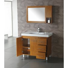 "<strong>Legion Furniture</strong> 39.5"" Single Bathroom Vanity Set"