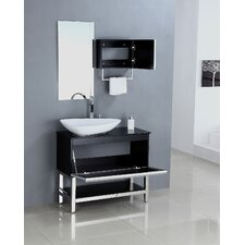 "35.5"" Single Bathroom Vanity Set"