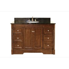 "49"" Single Bathroom Vanity Set with 6 Drawer"