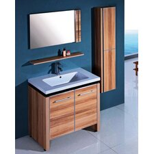 "31"" Single Bathroom Vanity Set with Mirror"