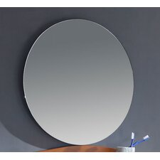 "<strong>Legion Furniture</strong> 22"" Round Vanity Mirror with Shelf"