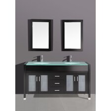 "<strong>Legion Furniture</strong> 71"" Vanity Set with Mirror"