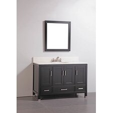 "48"" Bathroom Vanity Set with Mirror"