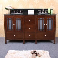 "<strong>Legion Furniture</strong> 60"" Double Sink Vanity Base"
