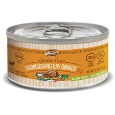 Classic Small Breed Thanksgiving Day Dinner Canned Dog Food (3.2-oz, case of 24)