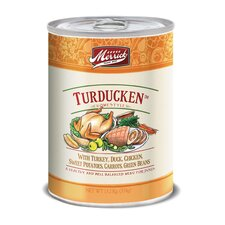 Turducken Canned Dog Food (13.2-oz, case of 12)
