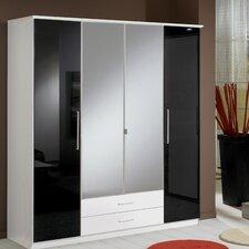 Milano 4 Door 2 Drawer Wardrobe