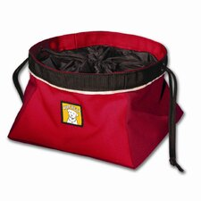 Quencher Cinch Top™ Portable Outdoor Dog Food Bowl