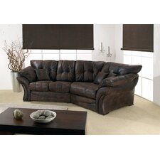 Florida Leather 4 Seater Corner Sofa