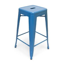 "Industrial Classics Galaxy 26"" Barstool (Set of 2)"
