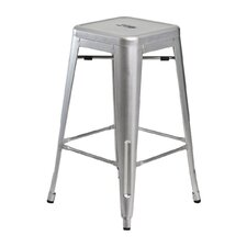 "Industrial Classics Galaxy 26"" Counter Stool (Set of 2)"