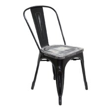 Industrial Classics Garvin Side Wood Chair (Set of 2)