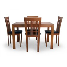 Extendable 5 Piece Dining Set