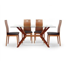 Angular 5 Piece Dining Set