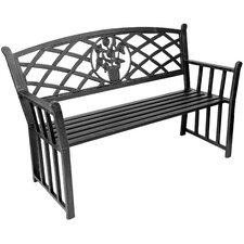 Bouquet Metal Garden Bench