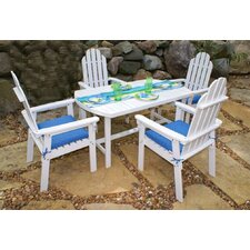 Adirondack Dining Table Set