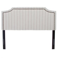 Heyshire Striped Fabric Headboard