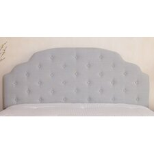 Lyssa Queen/Full Button Tufted Fabric Headboard