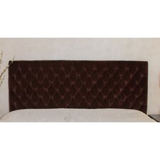 Westham Queen/Full Button Tufted Suede Headboard