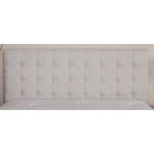 Preakness Queen/ Full Button Tufted Fabric Headboard