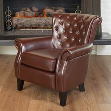 <strong>Home Loft Concept</strong> Franklin Leather Chair
