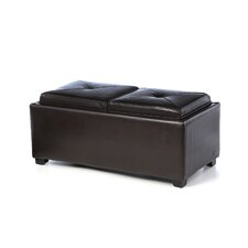 Maxwell Double Tray Cocktail Ottoman