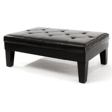 Bartholemew Drawer Cocktail Ottoman
