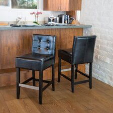 <strong>Home Loft Concept</strong> Exclusives Brinkley Bar Stool (Set of 2)