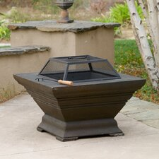 Raymond Copper Finish Fire Pit