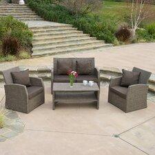 Driago Outdoor 4 Piece Mixed Seating Set