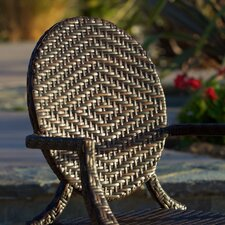 Giesel PE Wicker Outdoor Chair 2pk
