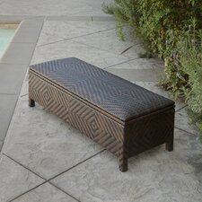 Casarano Wicker Storage Ottoman