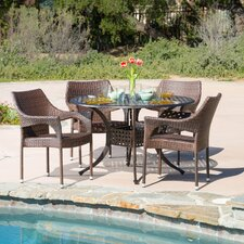 Leila 5 Piece Dining Set