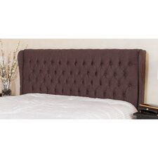 Coffman Wingback Queen/Full Tufed Fabric Headboard
