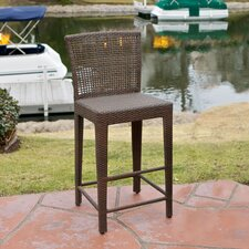Maldives PE Wicker Barstool