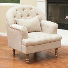 Loria Tufted Arm Chair