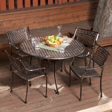 <strong>Home Loft Concept</strong> Sebastian 5 Piece Dining Set