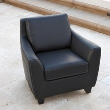 Konz Bonded Leather Club Chair
