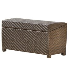 Outdoor Wicker Storage Chest