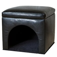 Charlie Bonded Leather Pet Bed