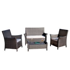 Knighton Wicker Outdoor Sofa Set