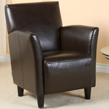 Lawson Bonded Leather Club Chair