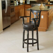 Jennings Armed Swivel Barstool