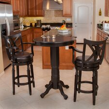 Eclipse 3 Piece Pub Table Set
