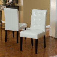 Tevita Button Tufted 2 pk Dining Chair (Set of 2)