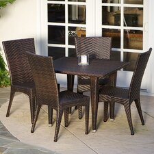 Edward 5 Piece Outdoor Dining Set