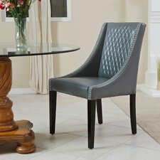 Mandolin Single Quilted Leather Arm Chair