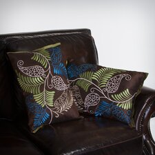 "Yasmeen 20"" Ferns Pillows (Set of 2) (Set of 2)"