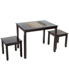 Braxton 3 Piece Chess Table Set