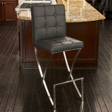 Jacoby Leather Barstool